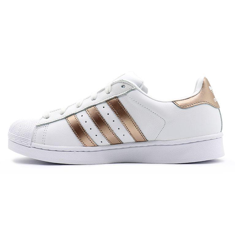 Abstracción Posdata Dispensación  Tênis Adidas Superstar - Branco - galleryrock