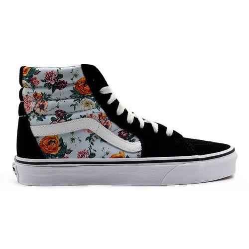 Tenis-Vans-Sk8-Hi-Garden-Floral