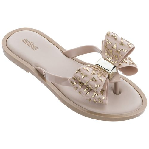 Melissa-Chinelo-Flip-Flop-Sweet---Bege-Ouro