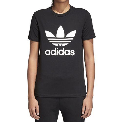 Camiseta-Adidas-Trefoil---Preta