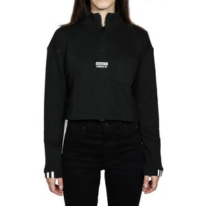 Blusa-Adidas-Moletom-Cropped-Sweat---Preto