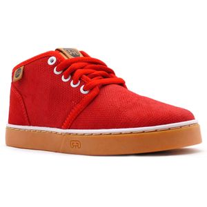 Tenis-Hocks-Del-Mar-Mid-Red-Tan