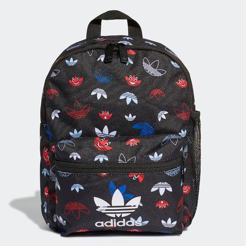 mochila-adidas-infantil-trefoil-preta-colorida