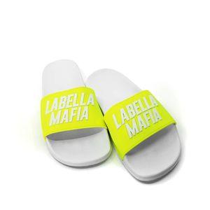 Chinelo-Labellamafia-Slide-Amarelo