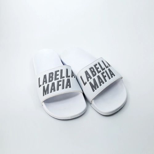 Chinelo-Labellamafia-Slide-Branco-Refletivo